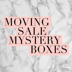 MOVING SALE MYSTERY BOXES 📦